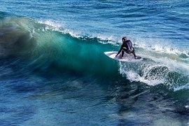 surfeur tube